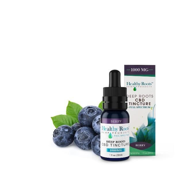 Deep Roots Tincture - 1000mg