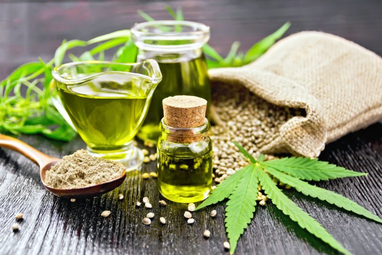 hemp oil extract beta caryophyllene terpene