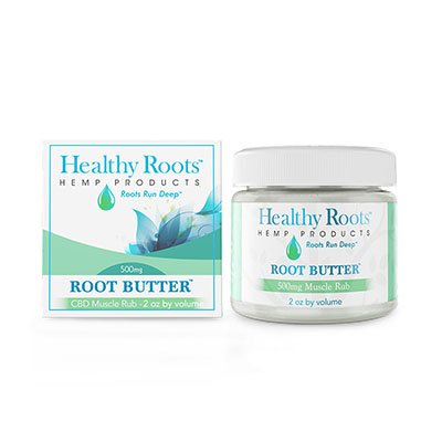 Healthy Roots Root Butter Muscle Rub sm healthy roots hemp